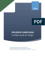 Violencia Camuflada Informe CINEP Mayo 2019