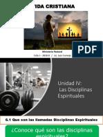 Unidad IV Disciplinas Espirituales