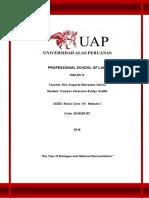 Trabajo Academico,Ingles IV,Campos Ambrosio Evelyn Sadith
