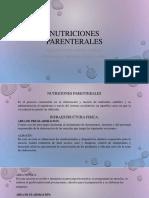 Check List Nutriciones Parenterales