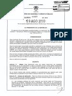 Decreto 1337 Del 19 de Agosto de 2016