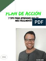 Plan de Acción 7 Tips Para Aprender Inglés