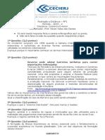AP1 2013-2 Comércio Exterior - Gabarito
