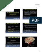 1. N¹ - Aula 1 - Acidente Vascular Encefálico