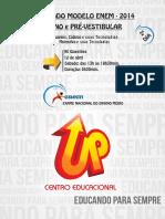 Enem - 06-04 - Linguagens e Matemática - Gabaritada.pdf