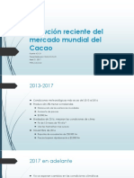 Evolución Reciente Del Mercado Mundial Del Cacao