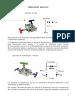 Operación de Manifolds