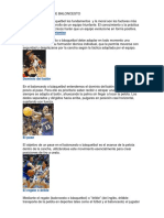 14 Fundamentos de Baloncesto