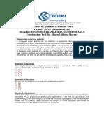 AP3 2013-2 Economia Brasileira Contemporanea - Gabarito