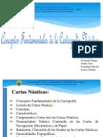 Presentacion de Navegacion Cartografia Nautica