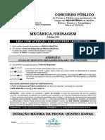 Fundep 2014 if Sp Professor Mecanica de Usinagem Prova (1)