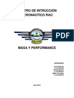 Masa y Performance