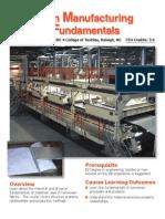 Manufacturing Process Fundamentals