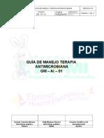Manejo Antimicrobiano HOMI