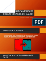 Mecanismo de Transferencia de Calor