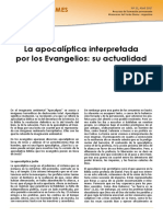 Apocalíptica evangelios