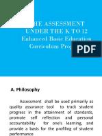 Assessment for Regional Training for Araling Panlipunan Teachers