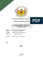 LEYES PARA UN IMPACTO AMIBIENTAL Y UN PLAN DE CIERRE DE MINA.docx