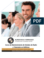 Curso Mantenimiento Radio Television Edificios