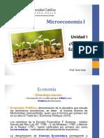 Unidad I. Qué Es La Economía