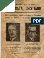 revista Democracia Cristiana Tandil