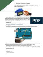 Servomotor. Introducción y ejemplos.docx