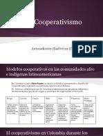antecedentes cooperativismo en colombia