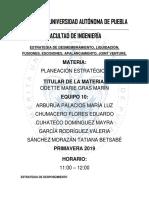 Estrategia de desmembramiento, liquidación, fusiones, escisiones,apalancamiento, Joint Venture.docx