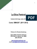 Curso de Etica Pastoral RA 2010 Maestro