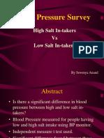 Blood Pressure Survey.ppt