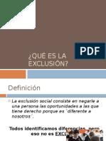 la exclusión.pptx