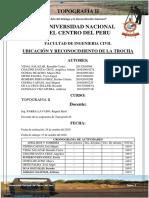 UBICACIÓN Y RECONOCIMIENTO DE LA TROCHA topografia.docx