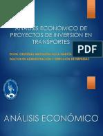 Analisis. Economico. Proyectos Inversion