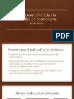 De La Teoría Literaria a La Minificción Posmoderna