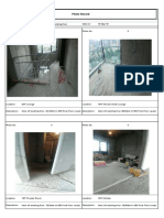 19F and 20F Survey Report for Existing Floor