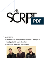 The Script presentation favorite band.pptx