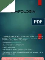 Unidad de Estudio Nº 1B Edafología