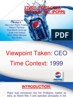 Case Study 2 PepsiCola PCPPI PPT