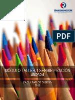 (Tdgp) Taller 1 Sensibilización - Unidad 5