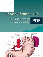 Cáncer gástrico 2017.ppt