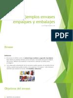 Ejemplos Envases Empaques y Embalajes
