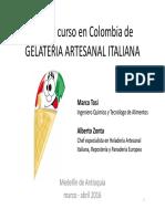Curso de GELATERIA ARTESANAL ITALIANA