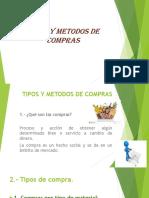 Tipos y Metodos de Compras