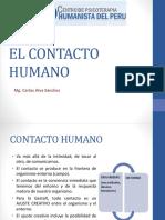 el contacto humano