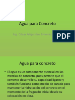 2- Agua Para Concreto