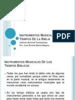 instrumentos musicales en tiempos de la biblia-