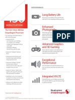 Snapdragon 450 Mobile Platform Product Brief