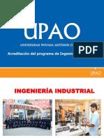 Acreditación Ing. Industrial UPAO 2019