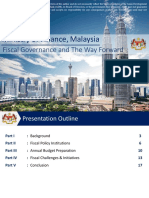 Fiscal Governance and The Way Forward