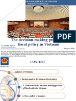 The Decision-Making Process of Fiscal Policy in Viet Nam